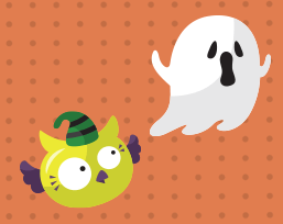 cute halloween ghost