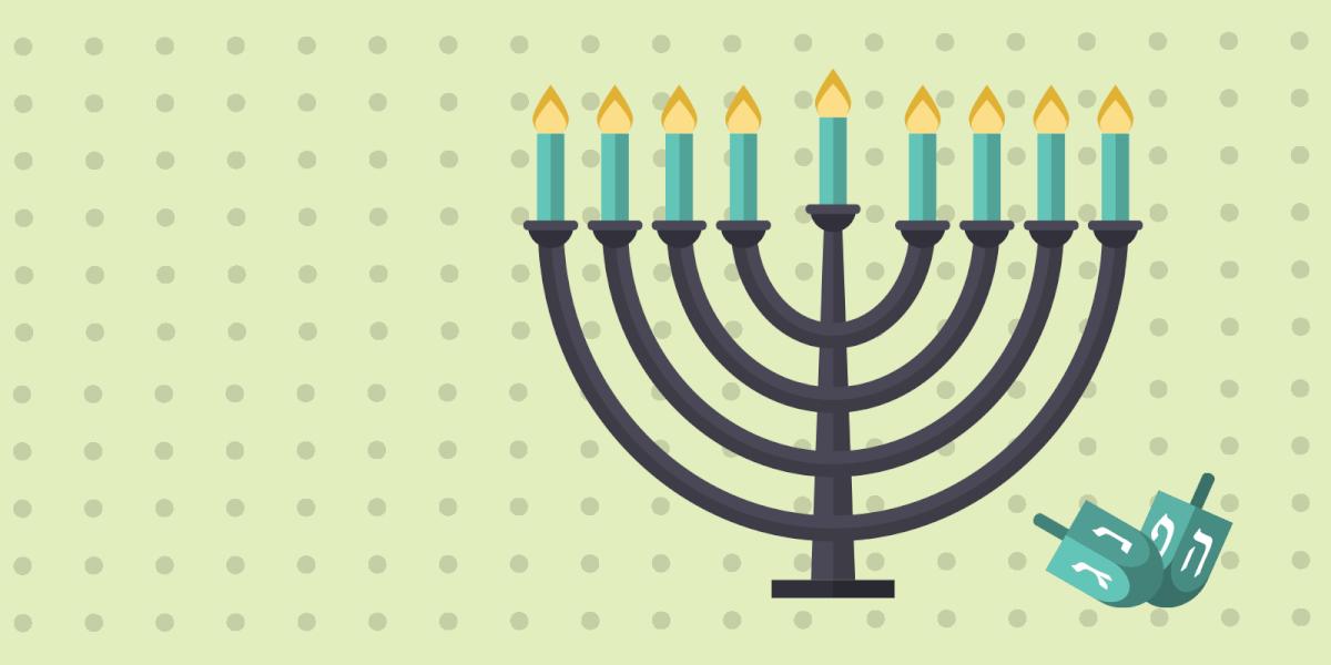 Hanukkah's menorah