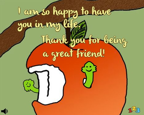 To a great friend