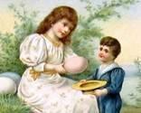 Nostalgic Easter ecards