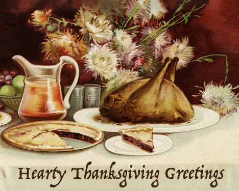 Hearty greetings