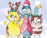 Cats' trio