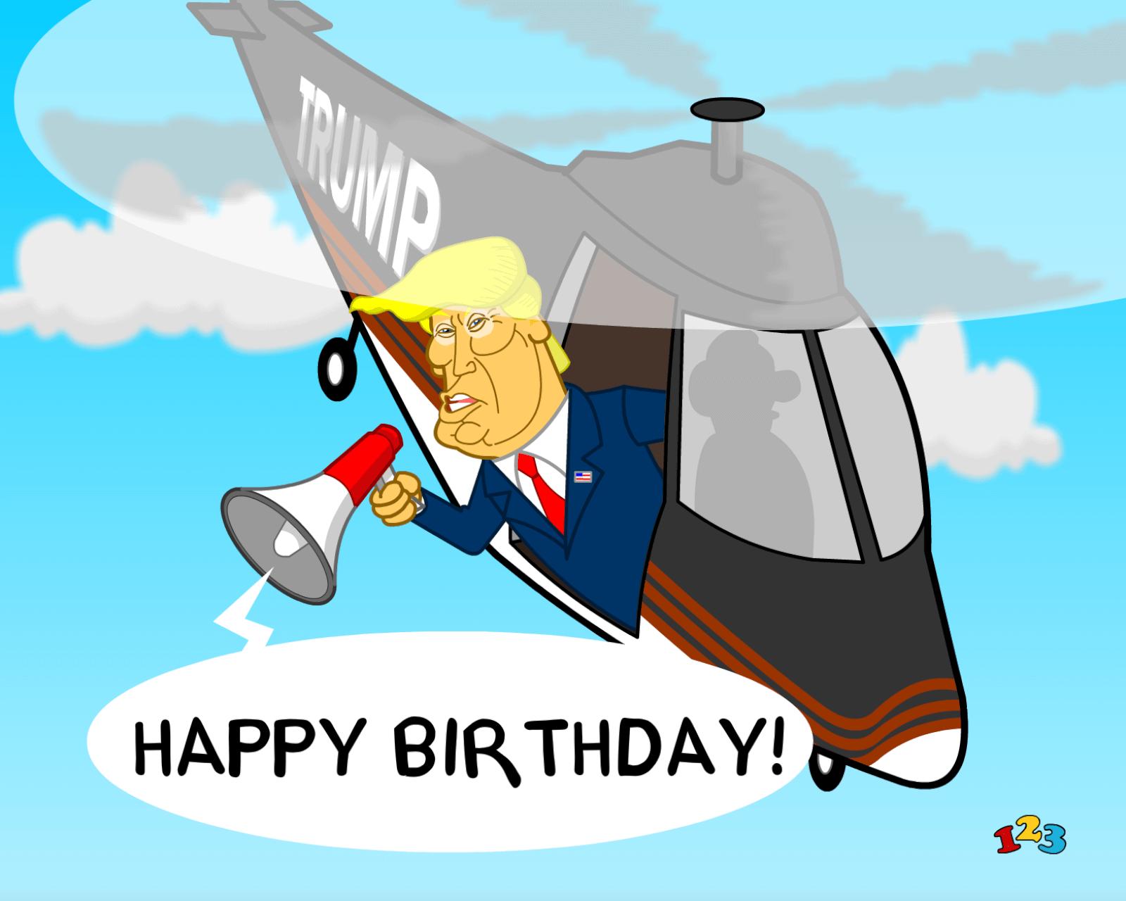 Trump Birthday Birthday Send Free Ecards From 123cards Com