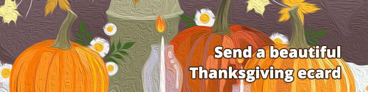 Thanksgiving ecards!